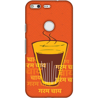 Amzer Designer Case - Cutting Chai For The Soul For Google Pixel