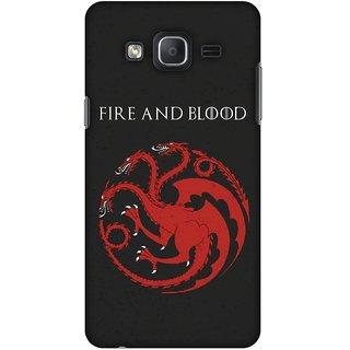 Amzer Designer Case - Team Targaryen For Samsung Galaxy On5