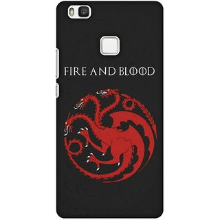 Amzer Designer Case - Team Targaryen For Huawei P9 Lite