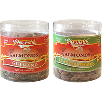 Almonds Gulkand & Italian Herbs-Chocholik Dry Fruits-2 Combo Pack