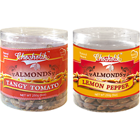 Almonds Tangy Tomato & Lemon Pepper-Chocholik Dry Fruits-2 Combo Pack