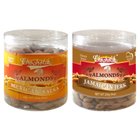Almonds Mexican Salsa & Jamaican Jerk-Chocholik Dry Fruits-2 Combo Pack