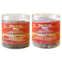 Almonds Gulkand & Tangy Tomato-Chocholik Dry Fruits-2 Combo Pack