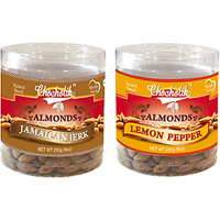 Almonds Jamaican Jerk & Lemon Pepper-Chocholik Dry Fruits-2 Combo Pack