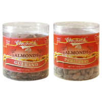 Almonds Gulkand & Peri Peri-Chocholik Dry Fruits-2 Combo Pack