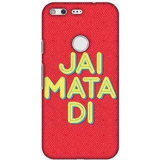 Amzer Designer Case - Jai Mata Di For Google Pixel