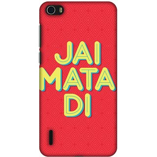 Amzer Designer Case - Jai Mata Di For Huawei Honor 6