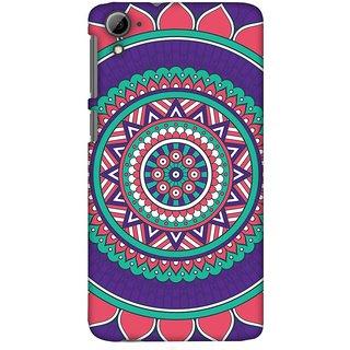 Amzer Designer Case - Mandala Beauty For HTC Desire 826