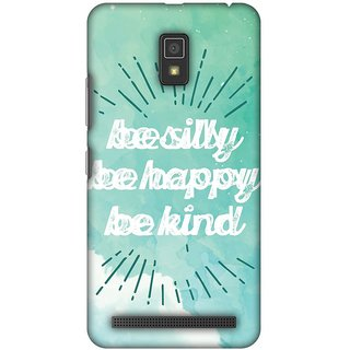 Amzer Designer Case - Be Silly For Lenovo A6600
