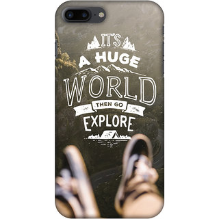 Amzer Designer Case - Explore The World For IPhone 7 Plus