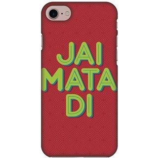 Amzer Designer Case - Jai Mata Di For IPhone 8