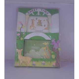 Dual photo frame for children