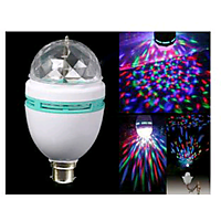 DISCO light  multicolur  auto- rotating bulb
