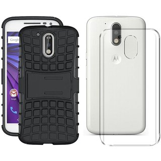 Moto G4 Plus Cover Combo By Mobik