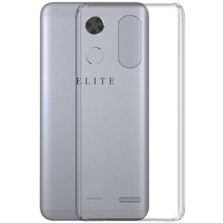 Swipe Elite Power Soft Silicon Cases Mobik - Transparent