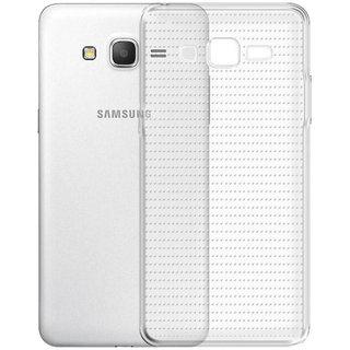 Deltakart Back Cover For Samsung Galaxy Grand Prime - Transparent
