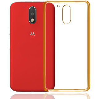 Moto G4 Plus Cover By Mobik - Transparent