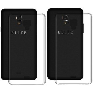 Swipe Elite 2 Plus Soft Silicon Cases Deltakart - Transparent