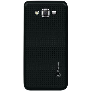 Samsung Galaxy J5 Soft Silicon Cases Mobik - Black