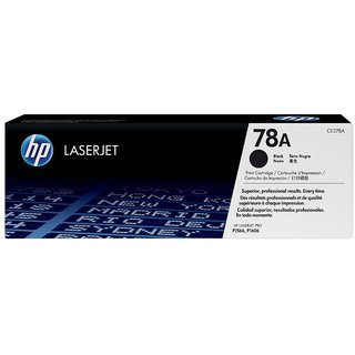 HP CE278A 78A Black Toner Cartridge CE278A For use LaserJet Pro M1536dnf LaserJet Pro P1566  LaserJet Pro P1606dn
