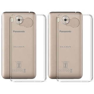 Panasonic Eluga Note Cover By Deltakart - Transparent