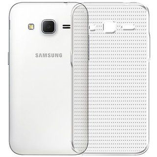 Deltakart Back Cover For Samsung Galaxy Core Prime - Transparent