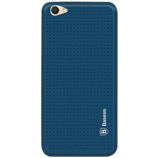 Vivo V5 Plus Soft Silicon Cases Mobik - Blue