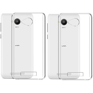 Lava A67 Cover By Deltakart - Transparent