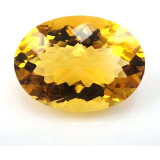 Be You 17.5 cts(19.23 ratti) Natural African Citrine Fine Quality 19.7x14.6x10.2 mm size Faceted Oval Shape Loose gemstones
