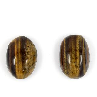 Be You 16.65 cts(18.3 ratti) Natural African Tiger Eye AAA Quality 15x11x6 mm size Cabochon Oval Shape Loose gemstones