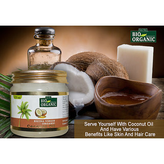 Coconut Oil Extra Virgin Coconut Oil-Bio Organic Natural Oil For Hair And Skin