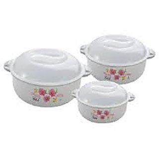 Joyo 5 Pcs Cook N Serve Microwave Set 3 Bowls 2 Spoons