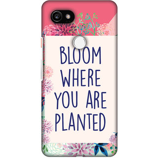 Amzer Designer Case - Bloom Where You Are.. For Google Pixel 2 XL