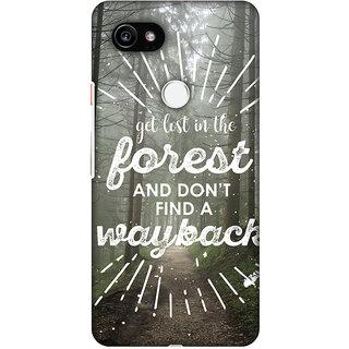 Amzer Designer Case - Lost In Forest For Google Pixel 2 XL