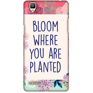 Amzer Designer Case - Bloom Where You Are.. For OPPO F1