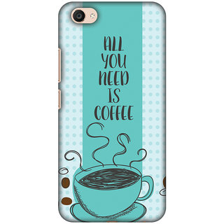 Amzer Designer Case - All You Need Is Coffee For Vivo V5 Plus