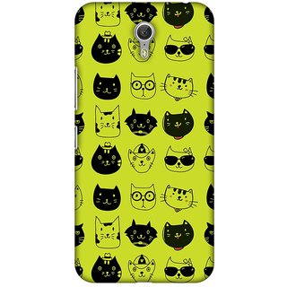Amzer Designer Case - Cat Party For Lenovo ZUK Z1
