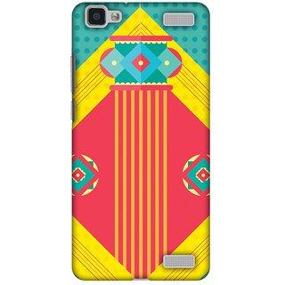 Amzer Diwali Designer Cases - Let There Be Lamp For Vivo V1 Max