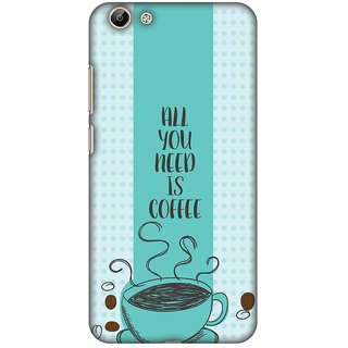 Amzer Designer Case - All You Need Is Coffee For Vivo Y69