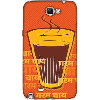 Amzer Designer Case - Cutting Chai For The Soul For Samsung Galaxy Note II GT-N7100