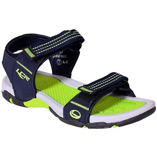 9f595b009ebb LANCER MEN COMFORTABLE BLUE GREEN COLOR FLOATERS  SANDALS ( EARTH -21)