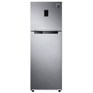 Samsung RT37K3763S9 Frost-free Freezer-on-Top Refrigerator (345 Ltrs, 3 Star Rating, Platinum Inox)