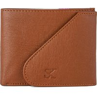 Styler King Boys Tan Artificial Leather Wallet  6 Card