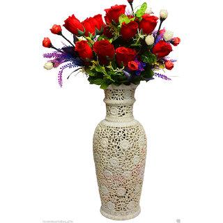 Flower Vase Hand carved soapstone decor gift