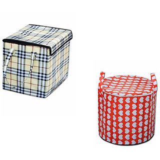 AAZEEM Laundry Basket Pack of 2
