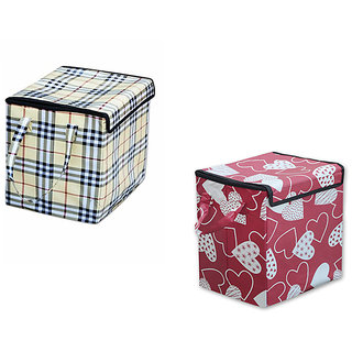 AAZEEM Laundry Basket Pack of 2