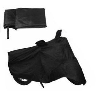 HMS Bike body cover Water resistant for Honda Livo - Colour Black