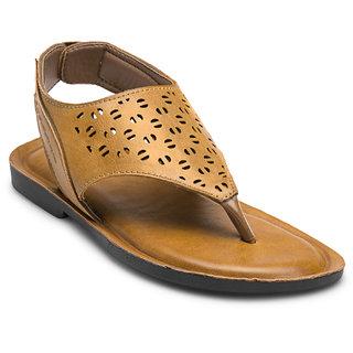 Adreno Mens Transform Tan Casual Sandals