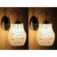 Somil New Designer Sconce Decorative & Colourful Wall Light  (Set Of 2)-MN212