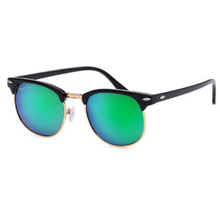 6e96f3312d Buy Royal Son UV Protected Clubmaster Sunglasses For Men And Women  (RS0011CM51Green Mirrored Lens) Online - Get 78% Off
